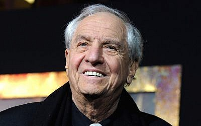 "Garry Marshall at the premiere of ""New Year's Eve"" at Grauman's Chinese Theatre in Hollywood, Calif., Dec. 5, 2011. (Kevin Winter/Getty Images via JTA)"