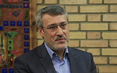 Hamid Baeidinejad, a top Iranian nuclear negotiator and head of political affairs and international security in the Ministry of Foreign Affairs. (Wikipedia/M.karbassi/CC BY-SA 4.0)