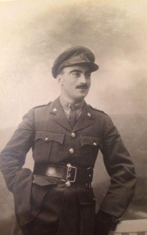 Major Bertram Cohen Tyler photo circa 1916. (Courtesy)