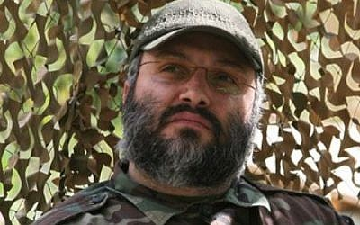 Hezbollah's Imad Mughniyeh, who was killed in 2008. (photo credit: CC BY-SA, Wikimedia Commons)