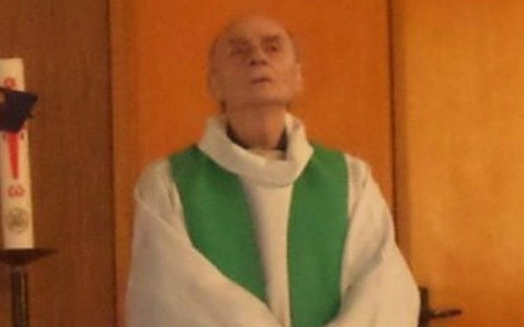 84-year-old French priest Jacques Hamel was murdered in an apparent Islamic State terror attack on his church in the town of Saint-Etienne-du-Rouvray, in Normandy on July 26, 2016 (Photo from Twitter)