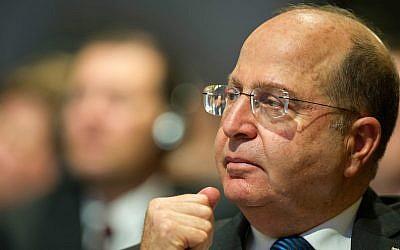 Moshe Ya'alon (Wikimedia Commons via JTA)