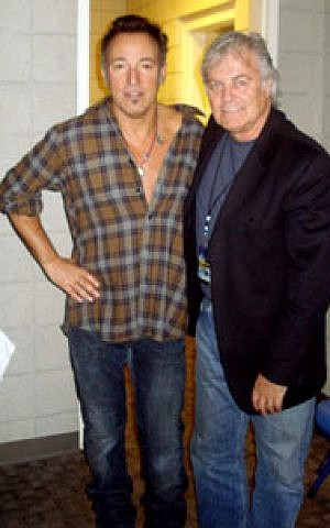 Bruce Springsteen and Mike Appel, in November 2009 (Courtesy)
