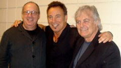 Jon Landau, Bruce Springsteen and Mike Appel, in November 2009 (Courtesy)