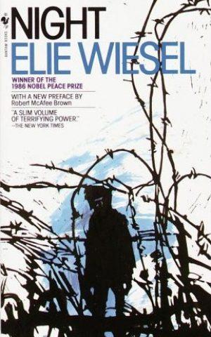 The cover of Elie Wiesel's Holocaust memoir 'Night.'