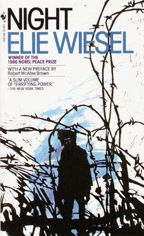 The cover of Elie Wiesel's Holocaust memoir 'Night.'