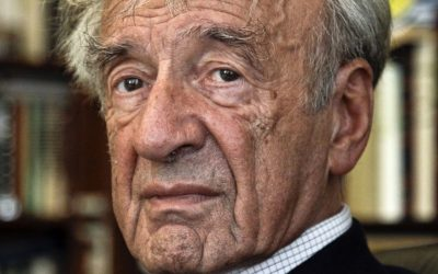 In this Sept. 12, 2012, photo Elie Wiesel is photographed in his office in New York. (AP/Bebeto Matthews)