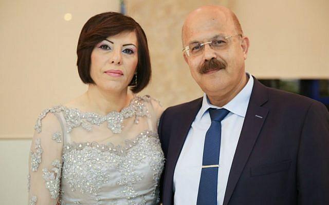 PamBio's Abed and Noha Higazi (Courtesy)