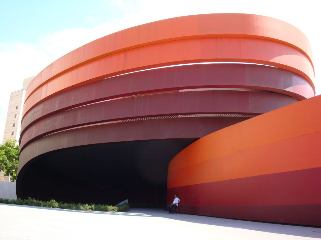 The Design Museum in Holon, Israel, by Ron Arad, has been voted as second most-loved building in Israel by the public. (Wikimedia Commons)