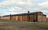 Barracks at Auschwitz-Birkenau Museum after a recent restoration, July 2016. (Auschwitz-Birkenau State Museum via AP)