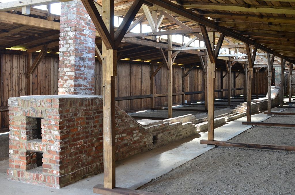 Barracks at Auschwitz-Birkenau Museum after a recent restoration, July 2016. (Auschwitz-Birkenau State Museum via AP)