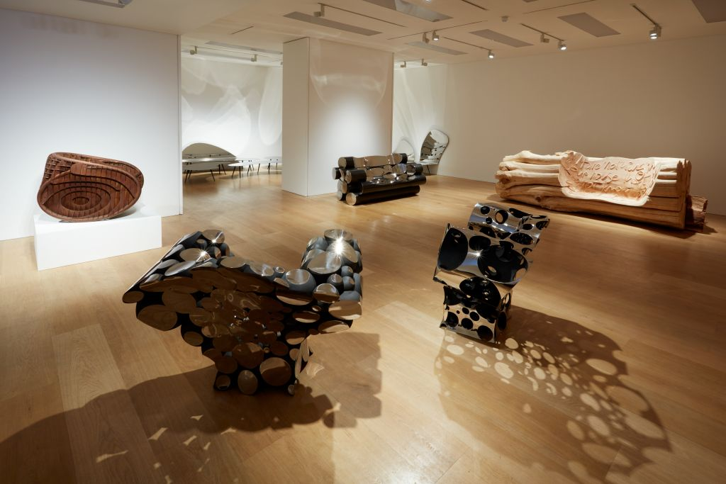 Ron Arad's Summer Show, his first solo exhibition at Ben Brown Fine Arts in London. (Courtesy)