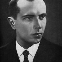 Ukrainian WWII figure Stepan Bandera, the leader of the Ukrainian nationalist and independence movement who in the 1940s encouraged members to 'destroy' Jews. (Wikimedia)
