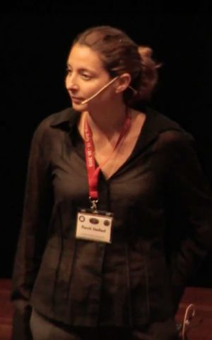 Prof. Ravit Helled speaks at a conference in Germany in 2013. (Screen capture: YouTube)