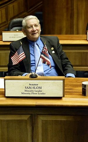 Sam Slom has been involved in Hawaiian politics since 1996 when he worked with Linda Lingle's campaign for governor. (Courtesy)