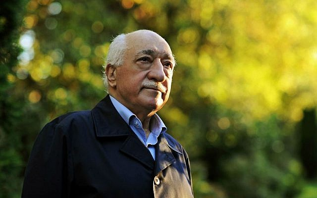 In this Sept. 24, 2013, file photo, Turkish Islamic preacher Fethullah Gulen is pictured at his residence in Saylorsburg, Pennsylvania. (AP Photo/Selahattin Sevi, File)