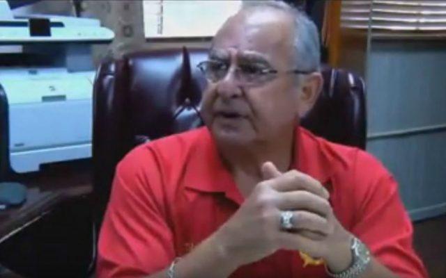 Sheriff Louis Ackal of Louisiana's Iberia Parish (YouTube screen capture)