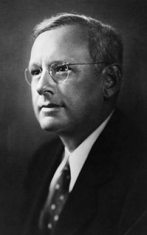 Kansas Governor Alf Landon lost to Franklin Roosevelt in the 1936 election. (Wikimedia Commons)