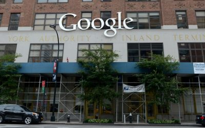 Google Offices in downtown Manhattan on July 27, 2014. (Gili Yaari/Flash90)