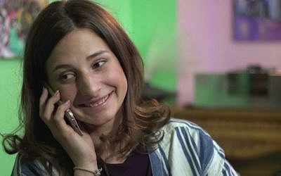 Sara Scur in a scene from 'Soon By You,' episode 2 (screen capture: YouTube)