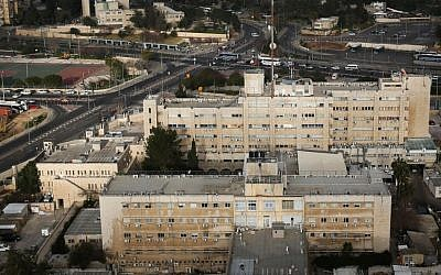 Birds-eye view of the Israel Police National Headquarters. March 1 2013. (Nati Shohat/Flash90)