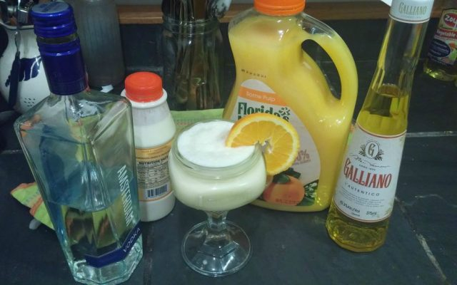 'Golden Calf' alcoholic drink from 'Tippling Through The Torah' blog. (Courtesy)