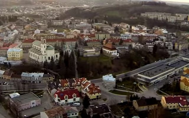 The Polish city of Gorlice (screen capture: YouTube)