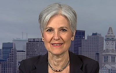 Green Party leader Jill Stein speaks to the media on July 12, 2016 (screen capture: YouTube)