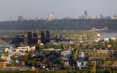 An illustrative photo of the city of Kiev. (Wikimedia)
