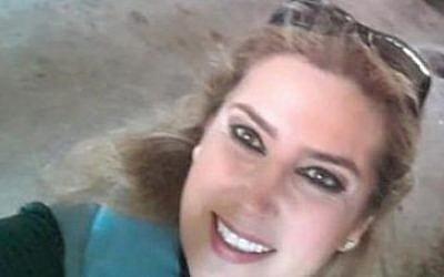 Syrian pro-regime reporter Kinana Allouche (YouTube screenshot)