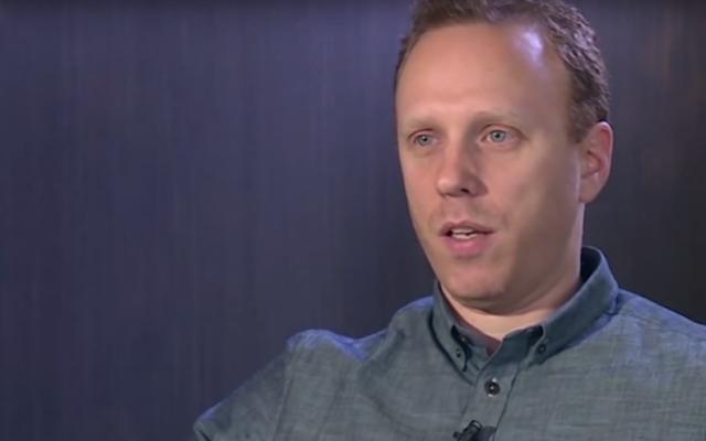 Anti-Israel activist Max Blumenthal. (YouTube screenshot)