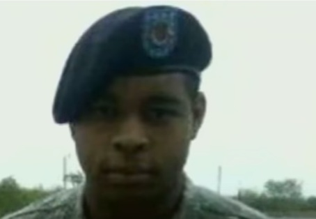 Micah Johnson, the 25-year-old black Army veteran who carried out the sniper-style attack in Dallas that killed five police officers (YouTube screen cap)