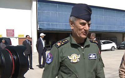 Turkish retired air force chief Akin Ozturk (YouTube screenshot)