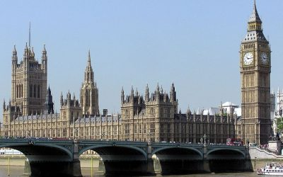 An illustrative photo of the British Parliament, seen across Westminster Bridge in London. (Wikimedia)