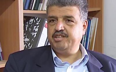 Saleh Haniyeh, head of the Palestinian Society for Consumer Protection. (courtesy: YouTube)