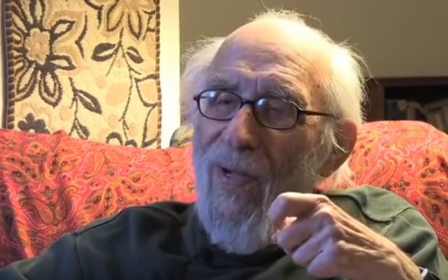 Rabbi Max Ticktin, a leader of the Hillel movement (YouTube screenshot)
