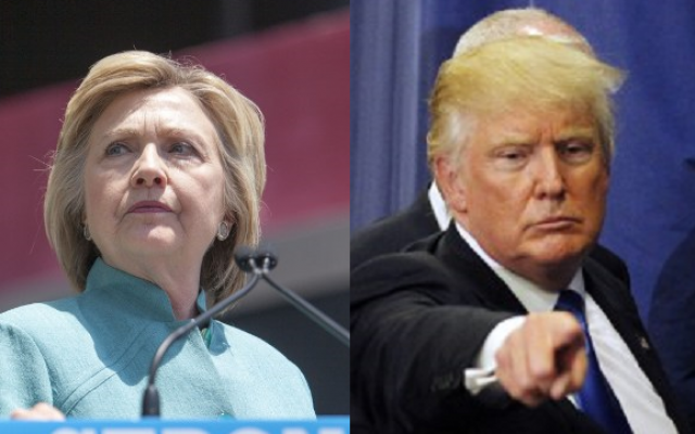 Presidential candidates Hillary Clinton and Donald Trump. (Jessica Kourkounis, Jogn Sommers II/AFP)