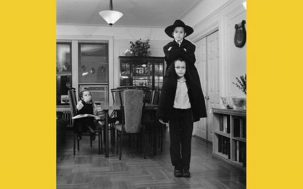 Photo from 'The 770: Lubavitchs of Brooklyn' series by Sacha Goldberger. (Courtesy)