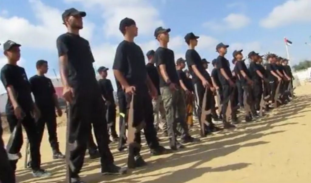 Gaza summer camps train teens for jihad | The Times of Israel