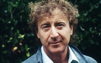 """This file photo taken on September 7, 1984 shows US actor and director Gene Wilder of the movie """"The Woman in Red"""" during the 10th American Film Festival of Deauville. (AFP PHOTO / Mychele DANIAU)"""