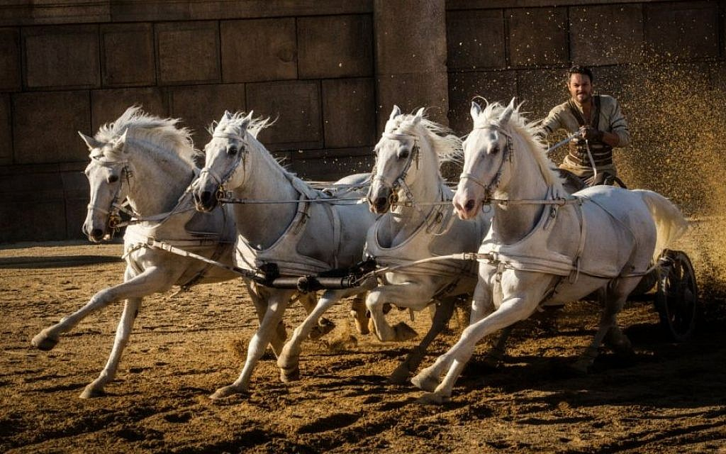 Starring  Jack Huston as Judah Ben-Hur, this is the fifth film adaptation of the 1880 novel 'Ben-Hur: A Tale of the Christ' by Lew Wallace. (courtesy Paramount Pictures)