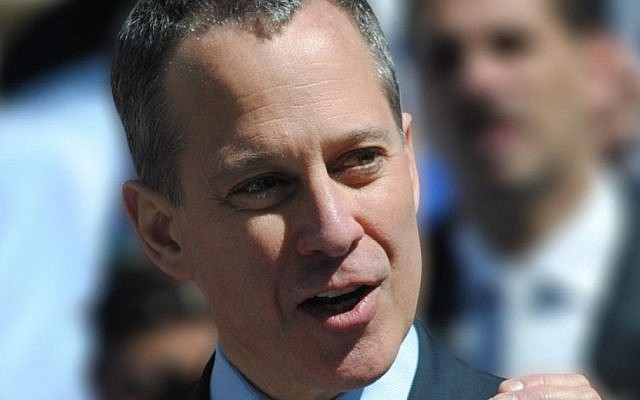 NY Attorney-General Eric T. Schneiderman. (Facebook)