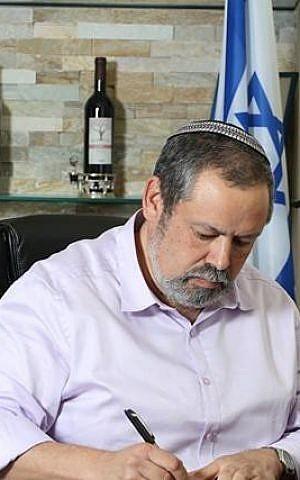 Har Hevron Regional Council head Yochai Damari (courtesy)