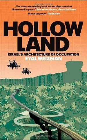 Cover of 'Hollow Land' by Eyal Weizman. (Courtesy)