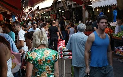 Tel Aviv's Carmel Market on October 22, 2010. (TijsB/Flickr/CC BY-SA 2.0)