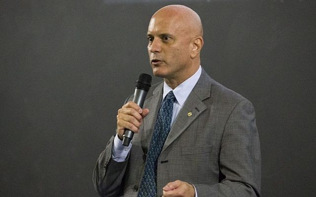 Florida Congressional candidate Tim Canova speaks during a forum at the Florida Technical College, in Pembroke Pines, Fla. (Wilfredo Lee/AP)