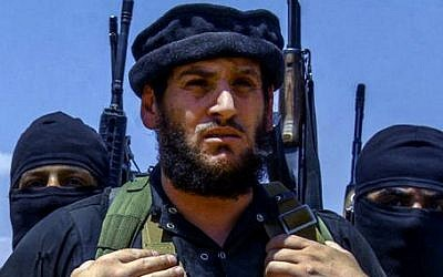 Abu Muhammad al-Adnani, IS's spokesman and chief strategist, who laid out the blueprint for the extremist group's attacks against the West. (Militant Photo via AP)