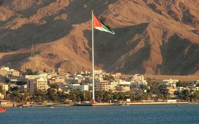 Aqaba seen from Eilat. (Aviad2001/Wikipedia/CC BY 2.5)
