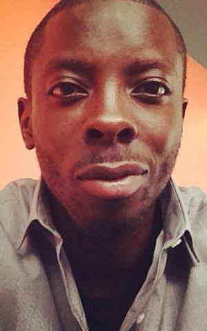 Black Lives Matter activist Ben Ndugga-Kabuye (Courtesy of Ndugga-Kabuye via JTA)