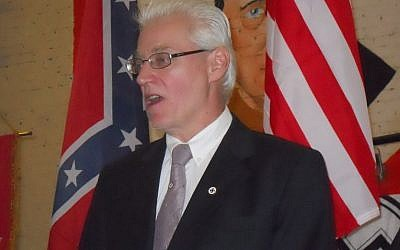 Rocky Suhayda, chair of the American Nazi Party, a neo-Nazi group based in Virginia (Wikipedia)